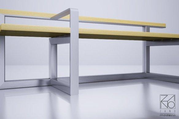 Ławka do galerii handlowych