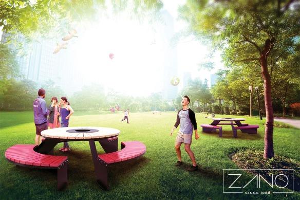 stol-piknikowy-domino-w-parku